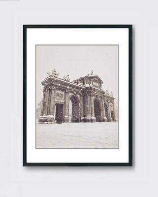 Alcalá - Nieve Madrid