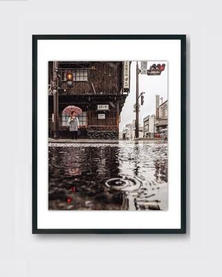 Japan rain