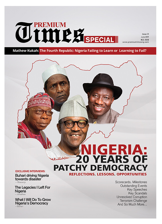 20 Years of Patchy Democracy - Premium Times Special - PRINT VERSION
