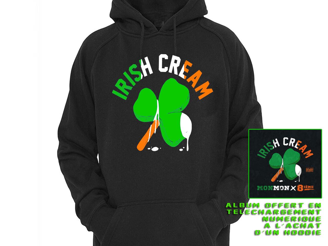 """HOODIE """"IRISH CREAM""""+ALBUM NUMERIQUE"""