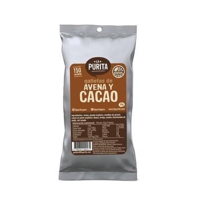 Galletón de Avena y Cacao x 6 unds de 35 grs