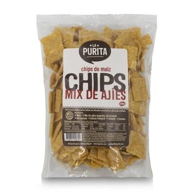 Chips de Maíz Mix de Ajíes x 200 grs X 5 UNDS