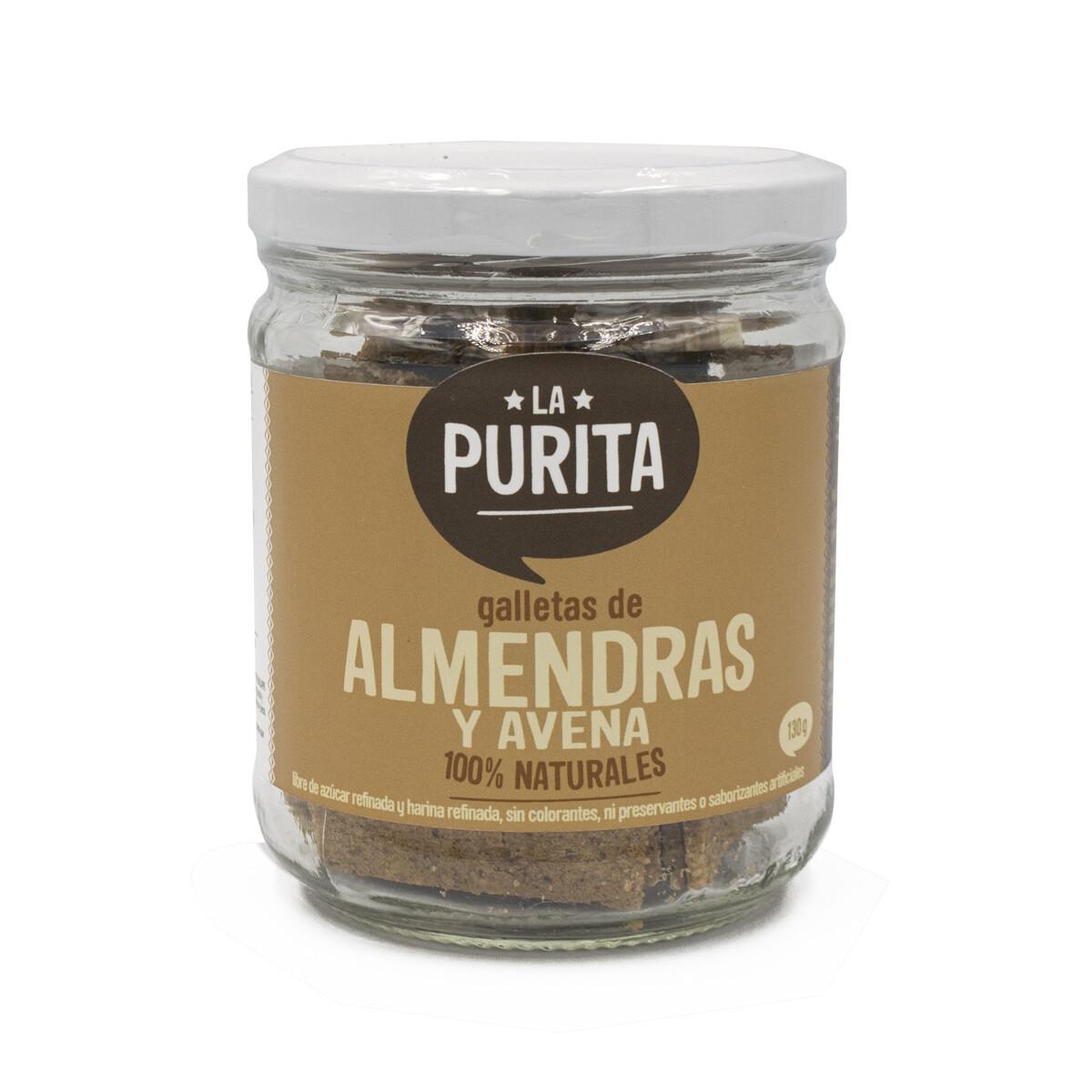 Galletas  de Avena y Almendras x 130 grs