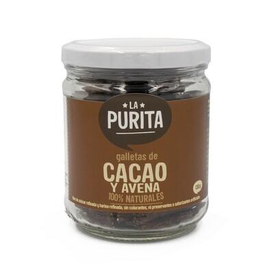 Galletas  de avena y cacao  x 130 grs