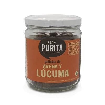 Galletas  de Avena y Lúcuma Sin Gluten  x 130 grs