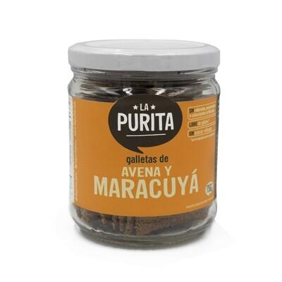 Galletas  de Avena y Maracuya Sin Gluten  x 130 grs