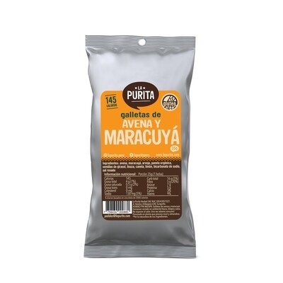 Galletón Avena y Maracuya x 6 unds de 35 grs