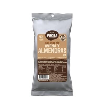 Galletón Avena y Almendras x 6 unds de 35 grs