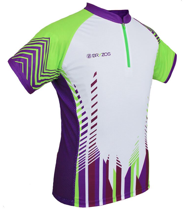 Mesh sides shirt Arrow