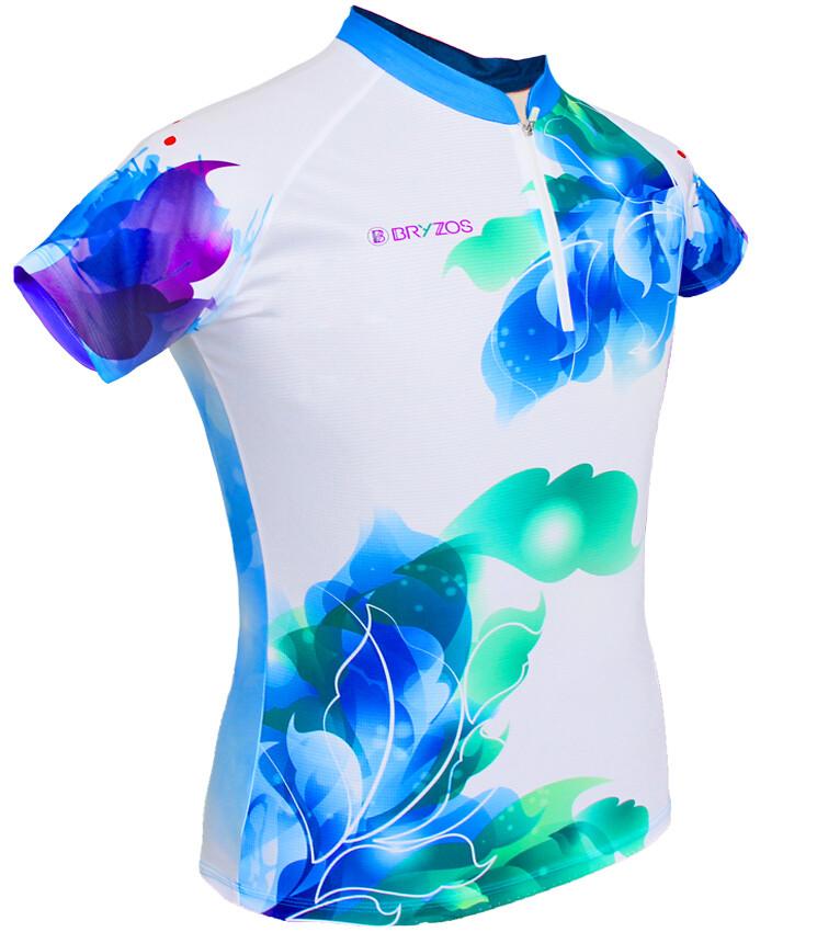 Race shirt Floral