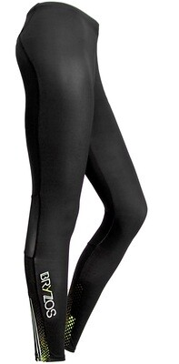 Long running tights Black / Green