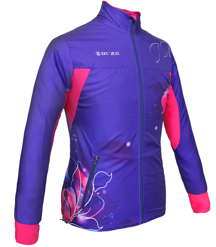 Light weight jacket | Flora Purple