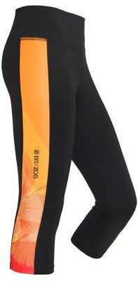 Capri running tights | Flower