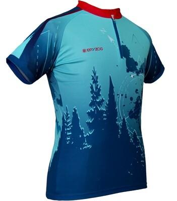 Race shirt | Blue mountain