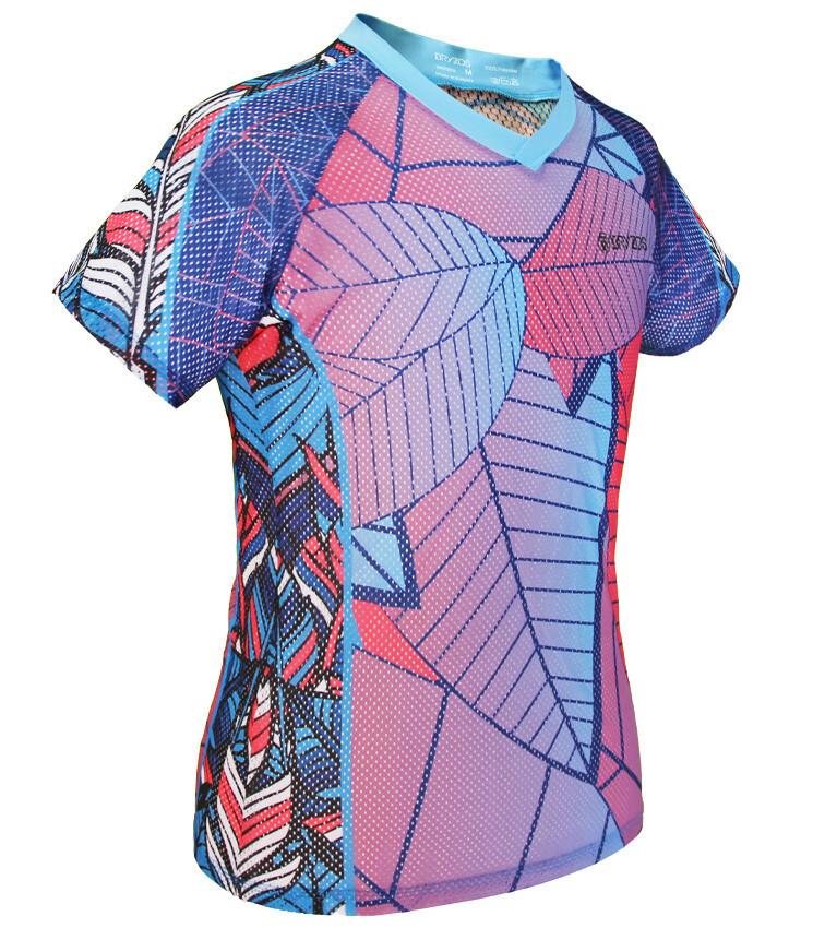 Women mesh shirt   Tropical