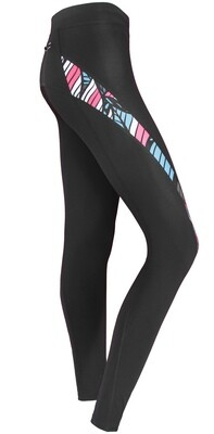 Women long running tights | Tropical