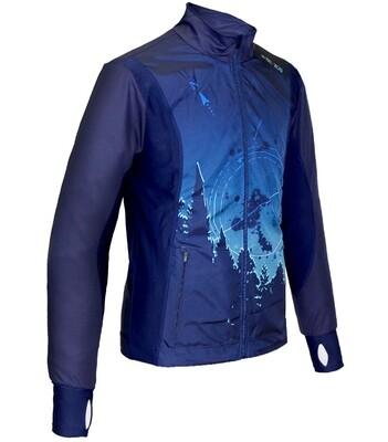 Lightweight jacket | Blue mountain