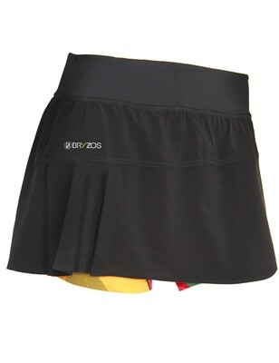 Skirt with tights | Flower