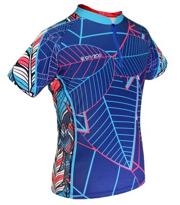 Women mesh sides shirt | Tropical