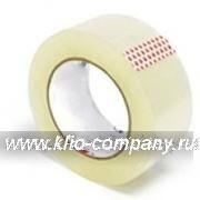Скотч (лента липкая) 50 мм х 150 м, 45 мкм  (36 шт. в коробке / 6 шт. в стяжке) - прозрачная