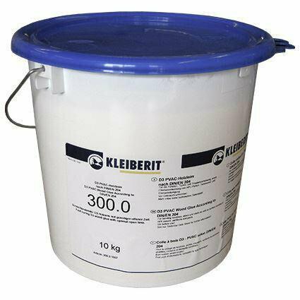 """300.0 - индустриальный клей """"KLEIBERIT"""" DIN EN 204, качество склеивания D3 (10 кг.)"""