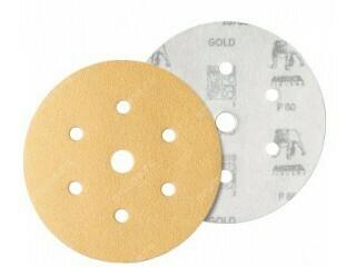 Шлиф. диск GOLD d-150, Р- 40 (6+1 отв.)