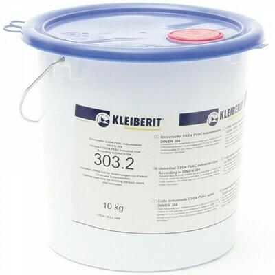 """303.2 - индустриальный клей """"KLEIBERIT"""" DIN EN 204, качество склеивания D3 (10кг.)"""