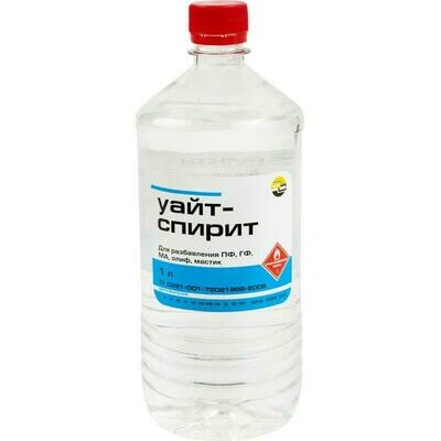 Уайт-спирит, Бутылка ПЭТ - 1 л.