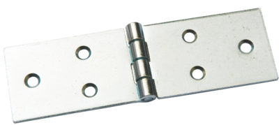 Петля карточная 128 х 40 мм - покрытие цинк