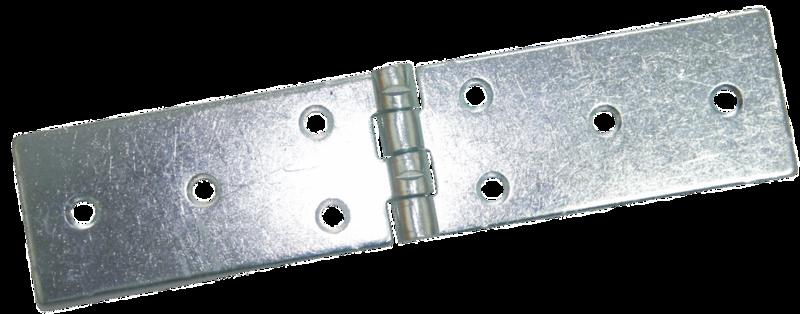 Петля карточная 200 х 45 мм - покрытие цинк