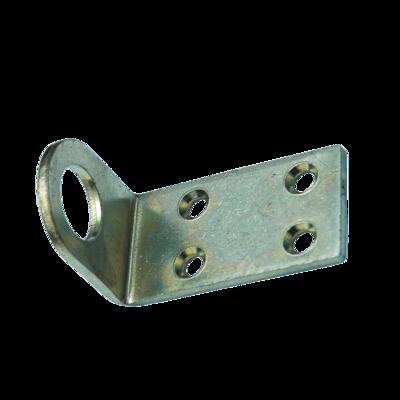 Пробой-ушко гнутое 30x40 мм - цинк (100 шт. упак.)