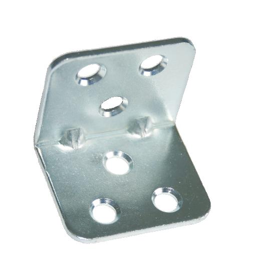 Уголок мебельный 30х30х35x2,0 мм - цинк (300 шт. упак.)