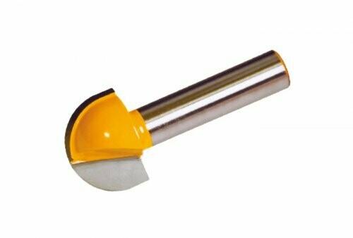 Пазовая гальтельная d 12,7 х 9,5 мм, r 6,35  хвостовик 8 мм