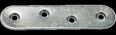 Пластина крепёжная ПК-80, цинк, /500 шт. упак./