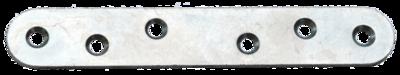 Пластина крепёжная ПК-120, цинк, /300 шт. упак./