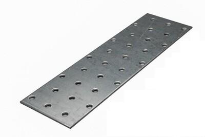 Пластина соединительная 80х140х2,0 мм, оцинкованная