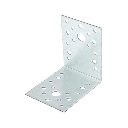 Уголок крепежный 90х90х65х2,0 мм оцинкованная
