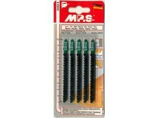 """Пилки """"MP.S"""" 100*75*4,0 мм - чистая быстрая распиловка (5 шт./упак.)"""