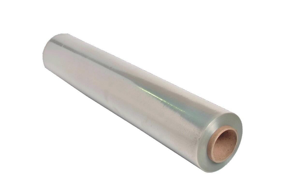 Пленка стрейч непищевая 500 мм 23 мкм  вес нетто 2,0/2,2 кг.,  по 6 шт. в коробке /ВТОРИЧКА -цвет в ассортименте/