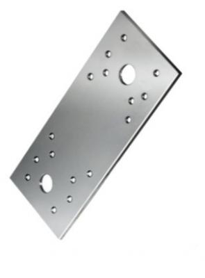 Пластина крепёжная с анкерным отверстием 140х55х2,0 мм оцинкованная (25 шт./упак.)