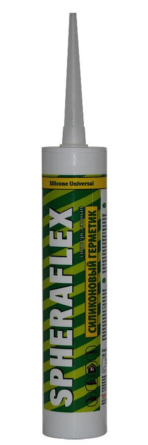 """Герметик силиконовый универсальный, бесцветный (300 мл) \ """"SPHERAFLEX"""""""