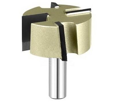 Фреза пазовая прямая для выравнивания поверхностей (для слэбов) D50.8 H25.4 TL70 хвостовик 12 мм