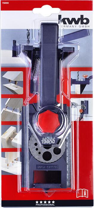 """Приспособление - кондуктор """"Dubelprofi"""" (3-12 мм) для сверления серий отверстий под шканты (6,8,10 мм)"""
