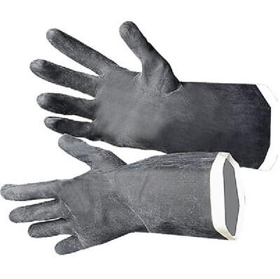 Перчатки чёрные КЩС тип 1