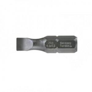 Бита шлиц SL 0,6 х 4,5 (25 мм)
