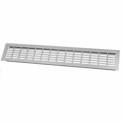Решетка вентиляционная алюминий - 480 х 80 мм