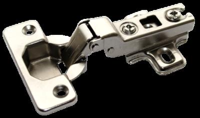 Петля полунакладная с монтажной планкой МF-201В Slide-on