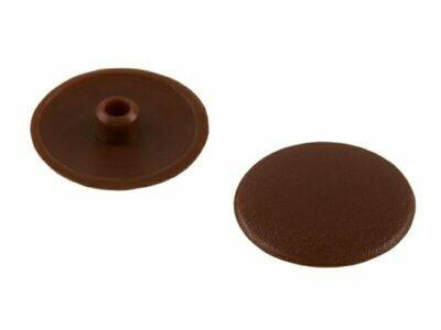 ЗАГЛУШКА эксцентрика № 8, коричневая - (100 шт./упак.)