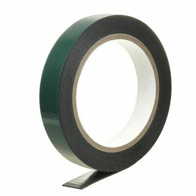 Скотч 2-х сторонний 19мм*50м (усиленный) - зеленый