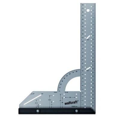 Угольник разметочный универсальный 200 х 300 мм \ Wolfcraft